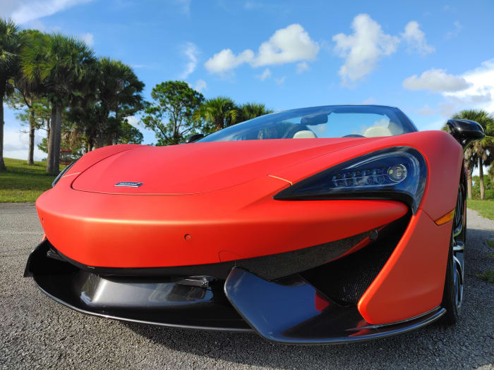 Image #3 of our 2019 McLaren 570s Spyder (Convertible) (Orange) In Miami Fort Lauderdale Palm Beach South Florida