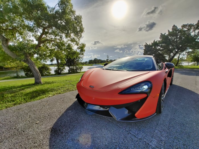 Image #9 of our 2019 McLaren 570s Spyder (Convertible) (Orange) In Miami Fort Lauderdale Palm Beach South Florida