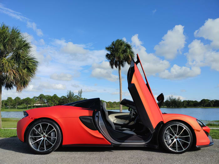 Image #11 of our 2019 McLaren 570s Spyder (Convertible) (Orange) In Miami Fort Lauderdale Palm Beach South Florida