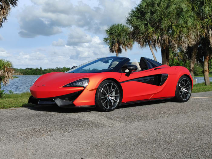 Image #4 of our 2019 McLaren 570s Spyder (Convertible) (Orange) In Miami Fort Lauderdale Palm Beach South Florida