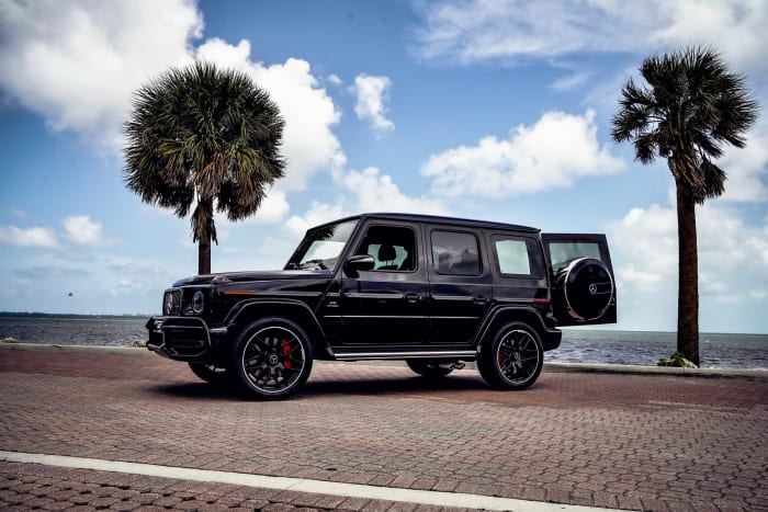 Image #4 of our 2018 Mercedes Benz G-Class  (Black) In Miami Fort Lauderdale Palm Beach South Florida