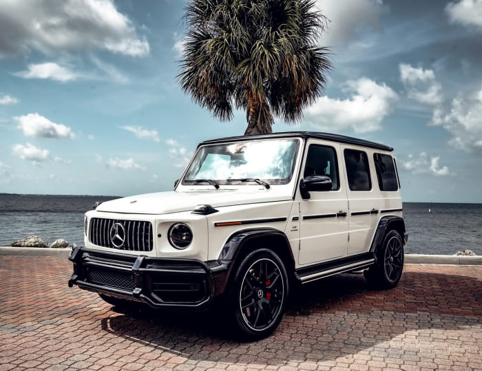 Image #0 of our 2018 Mercedes Benz G63  (White) In Miami Fort Lauderdale Palm Beach South Florida
