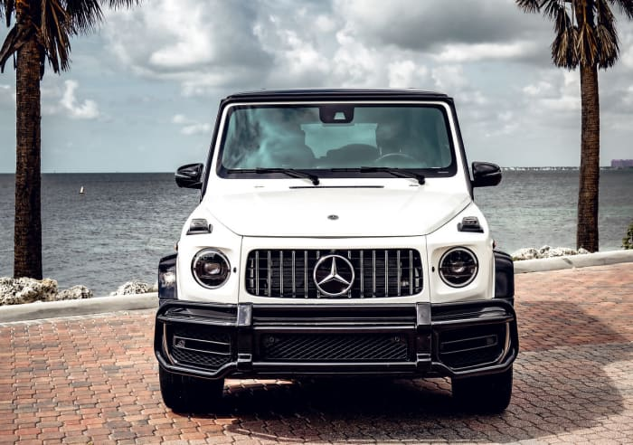 Image #2 of our 2018 Mercedes Benz G63  (White) In Miami Fort Lauderdale Palm Beach South Florida