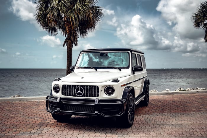 Image #1 of our 2018 Mercedes Benz G63  (White) In Miami Fort Lauderdale Palm Beach South Florida