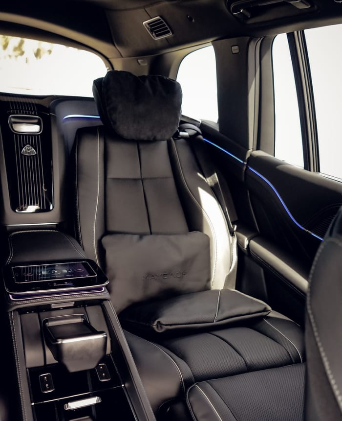 Image #6 of our 2021 Mercedes Benz GLS 600 Maybach (Black) In Miami Fort Lauderdale Palm Beach South Florida