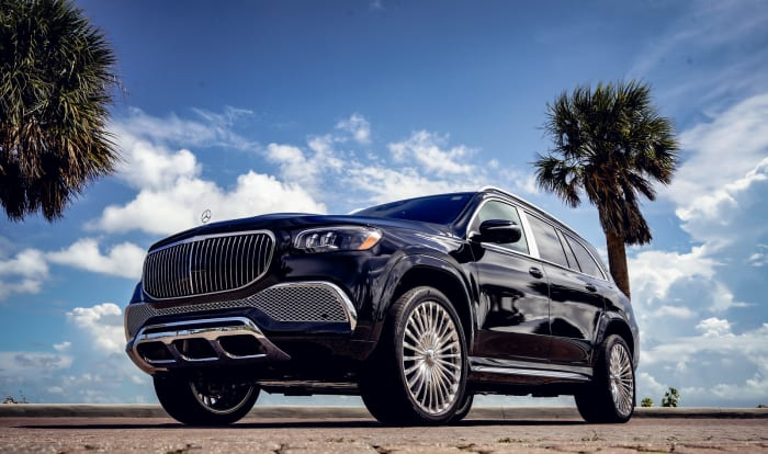 Image #0 of our 2021 Mercedes Benz GLS 600 Maybach (Black) In Miami Fort Lauderdale Palm Beach South Florida