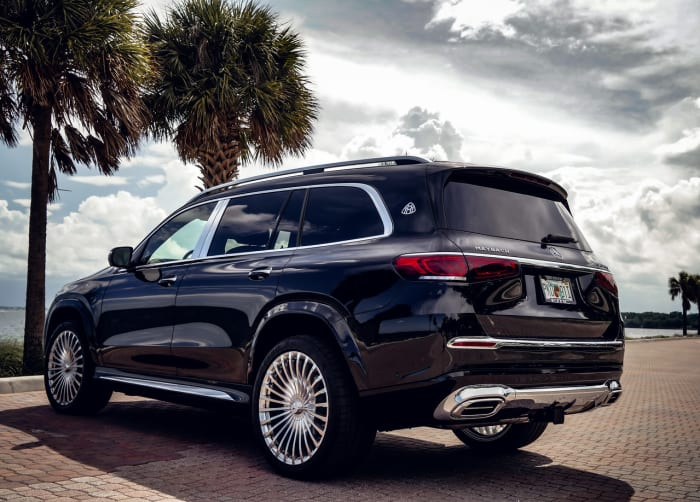 Image #2 of our 2021 Mercedes Benz GLS 600 Maybach (Black) In Miami Fort Lauderdale Palm Beach South Florida