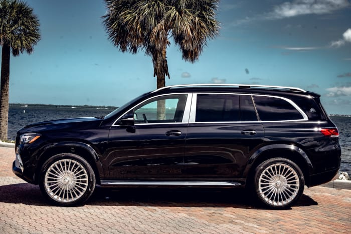 Image #3 of our 2021 Mercedes Benz GLS 600 Maybach (Black) In Miami Fort Lauderdale Palm Beach South Florida