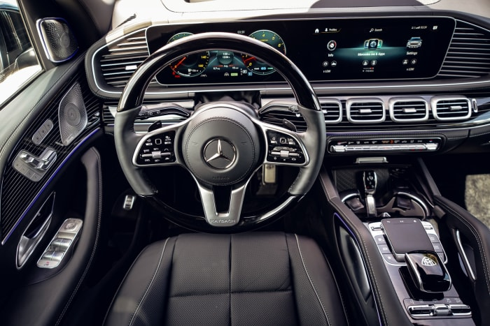 Image #4 of our 2021 Mercedes Benz GLS 600 Maybach (Black) In Miami Fort Lauderdale Palm Beach South Florida