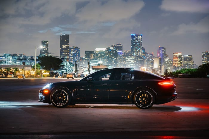 Image #2 of our 2020 Porsche Panamera  (Black) In Miami Fort Lauderdale Palm Beach South Florida