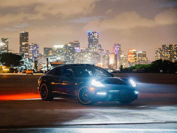 Image #0 of our 2020 Porsche Panamera  (Black) In Miami Fort Lauderdale Palm Beach South Florida