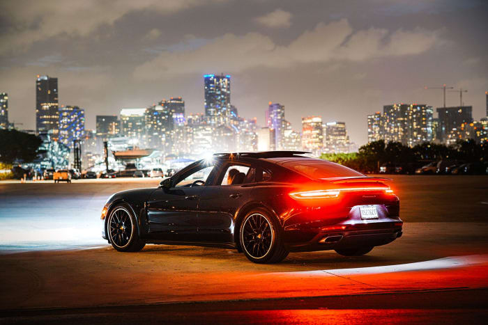 Image #1 of our 2020 Porsche Panamera  (Black) In Miami Fort Lauderdale Palm Beach South Florida