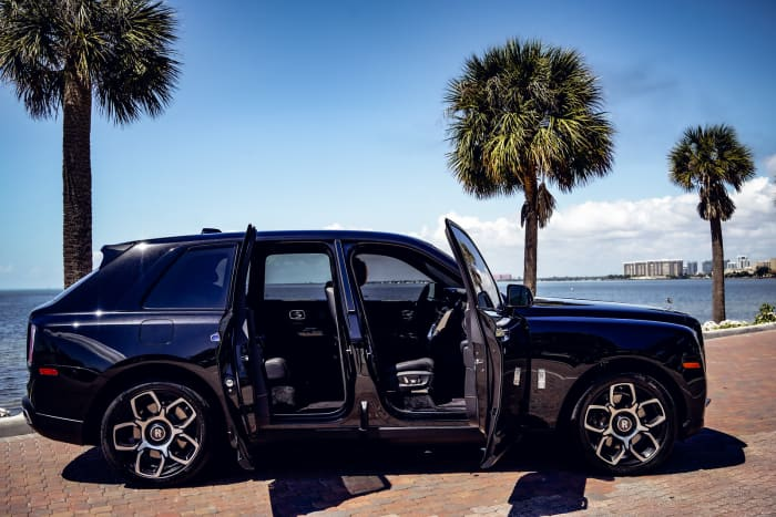 Image #3 of our 2018 Rolls Royce Cullinan  (Black) In Miami Fort Lauderdale Palm Beach South Florida