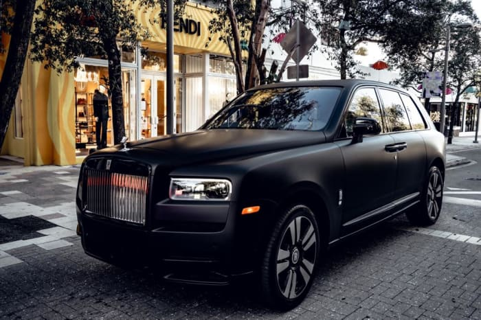 Image #0 of our 2018 Rolls Royce Cullinan  (Matte Black) In Miami Fort Lauderdale Palm Beach South Florida