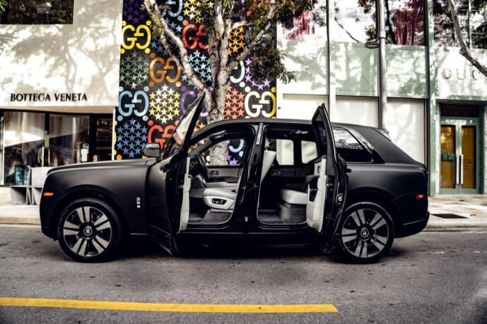 Image #2 of our 2018 Rolls Royce Cullinan  (Matte Black) In Miami Fort Lauderdale Palm Beach South Florida
