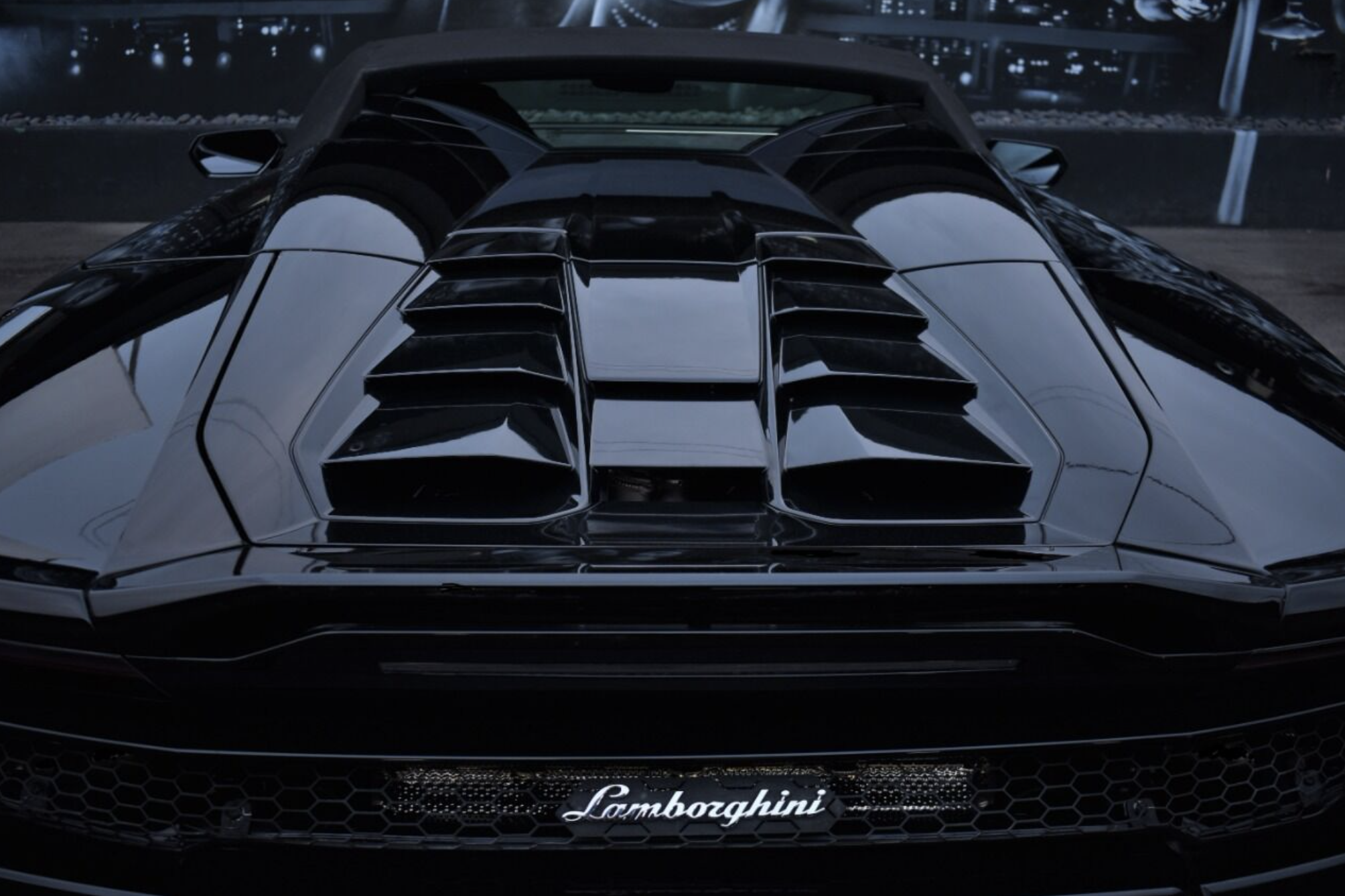 Image #11 of our  LAMBORGHINI HURACAN EVO SPYDER BLACK    In Miami Fort Lauderdale Palm Beach South Florida