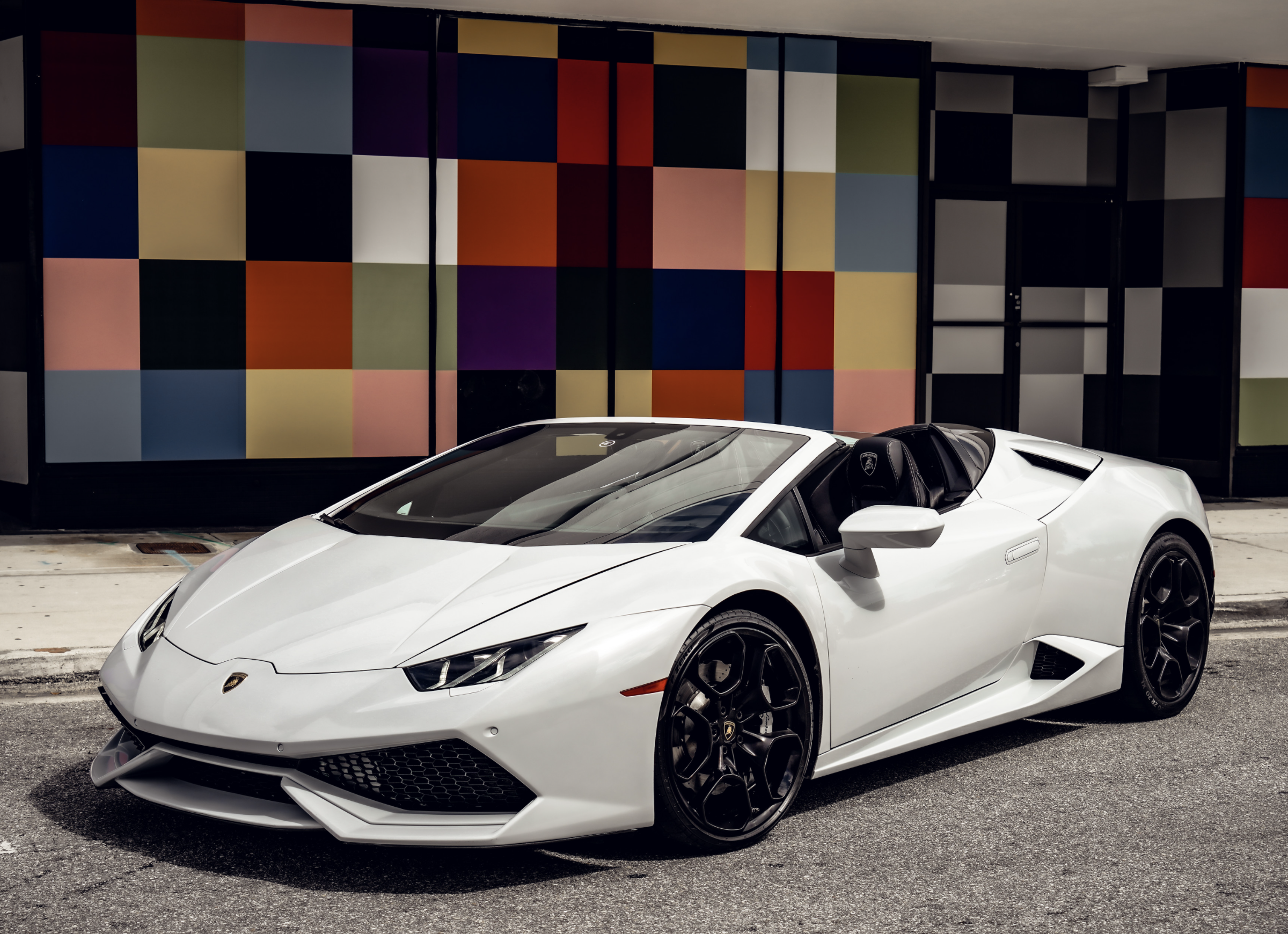 Image #0 of our  LAMBORGHINI HURACAN WHITE    In Miami Fort Lauderdale Palm Beach South Florida