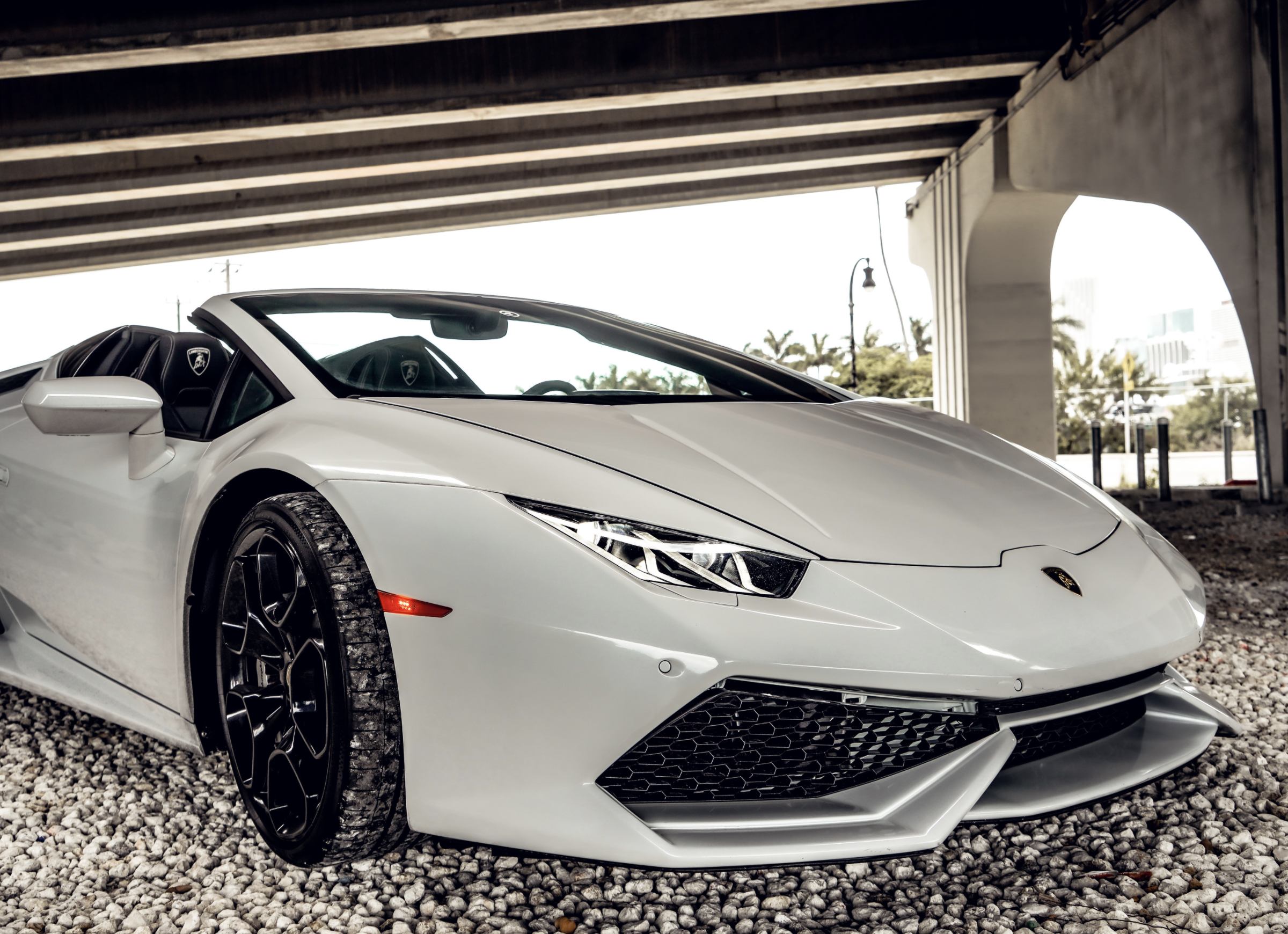 Image #3 of our  LAMBORGHINI HURACAN WHITE    In Miami Fort Lauderdale Palm Beach South Florida