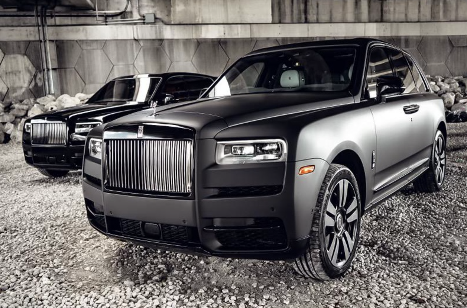 Image #0 of our  2021 ROLLS ROYCE CULLINAN - MATT BLACK    In Miami Fort Lauderdale Palm Beach South Florida