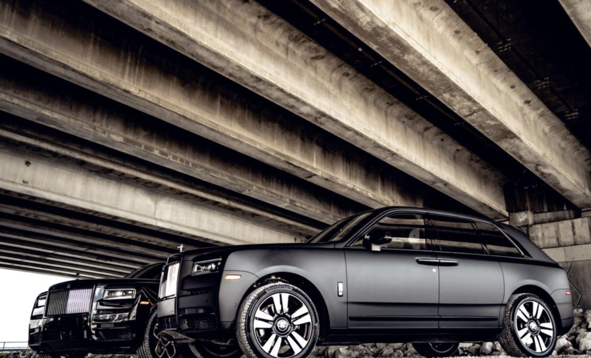 Image #2 of our  2021 ROLLS ROYCE CULLINAN - MATT BLACK    In Miami Fort Lauderdale Palm Beach South Florida