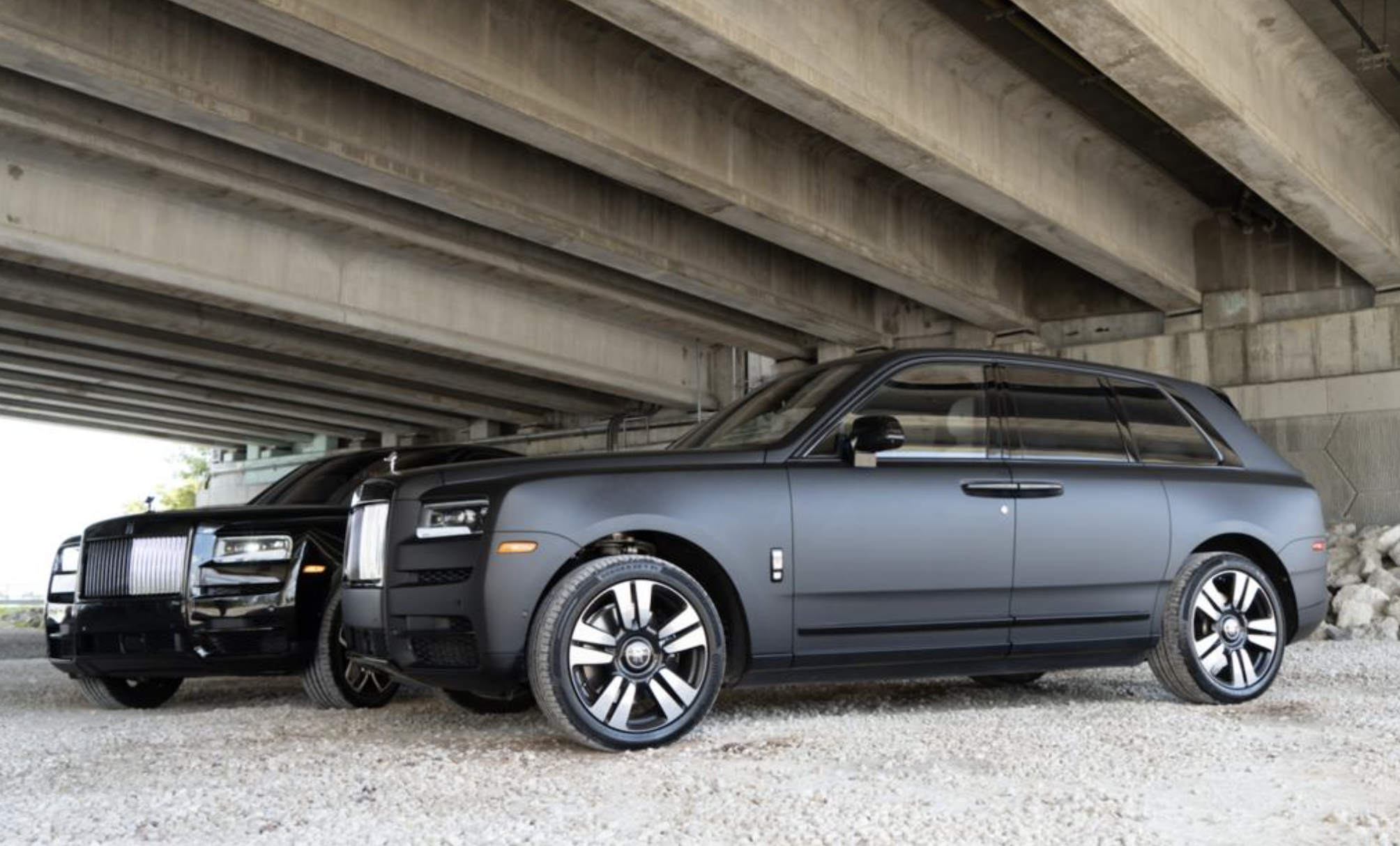 Image #3 of our  2021 ROLLS ROYCE CULLINAN - MATT BLACK    In Miami Fort Lauderdale Palm Beach South Florida