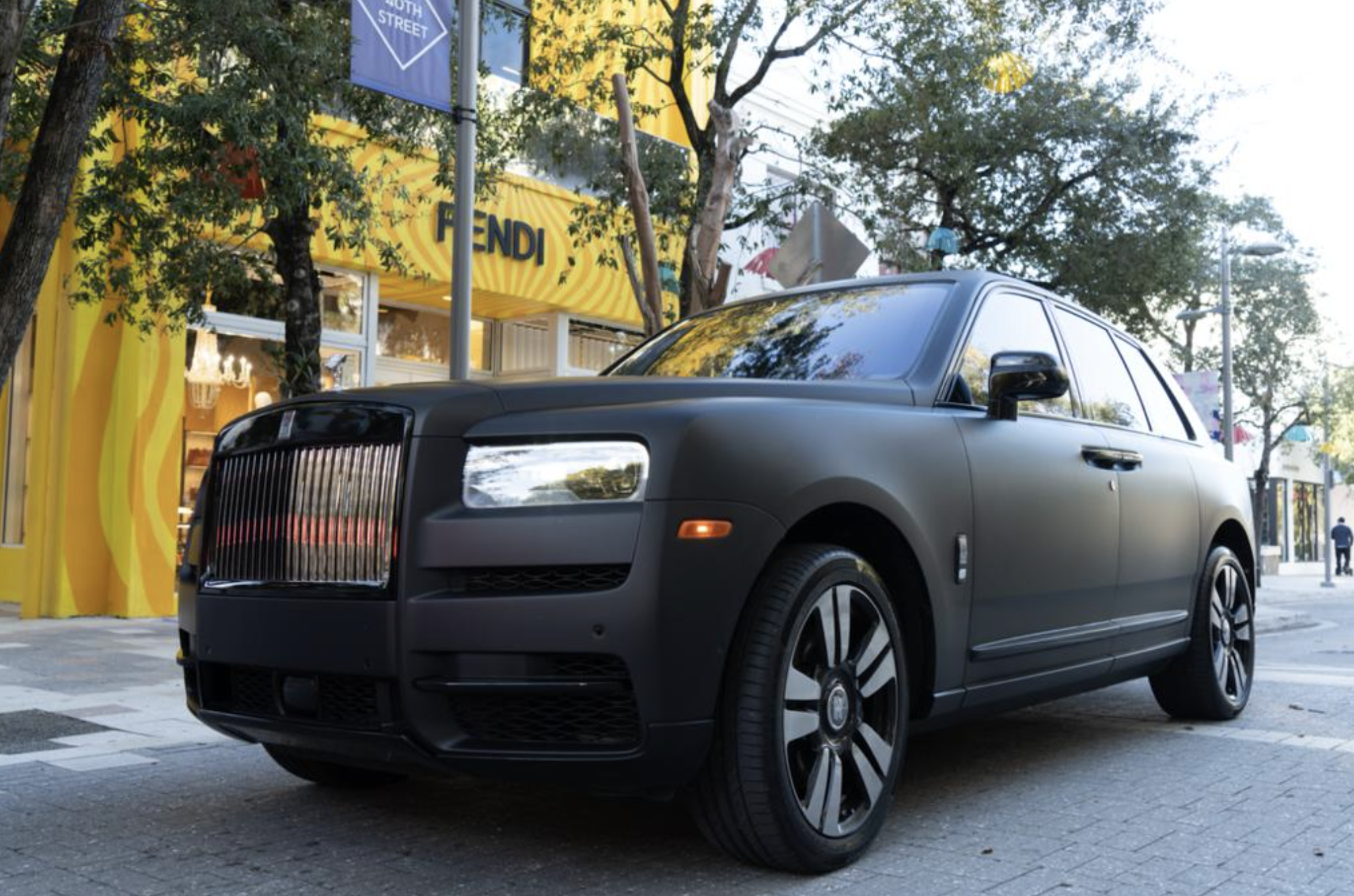 Image #5 of our  2021 ROLLS ROYCE CULLINAN - MATT BLACK    In Miami Fort Lauderdale Palm Beach South Florida