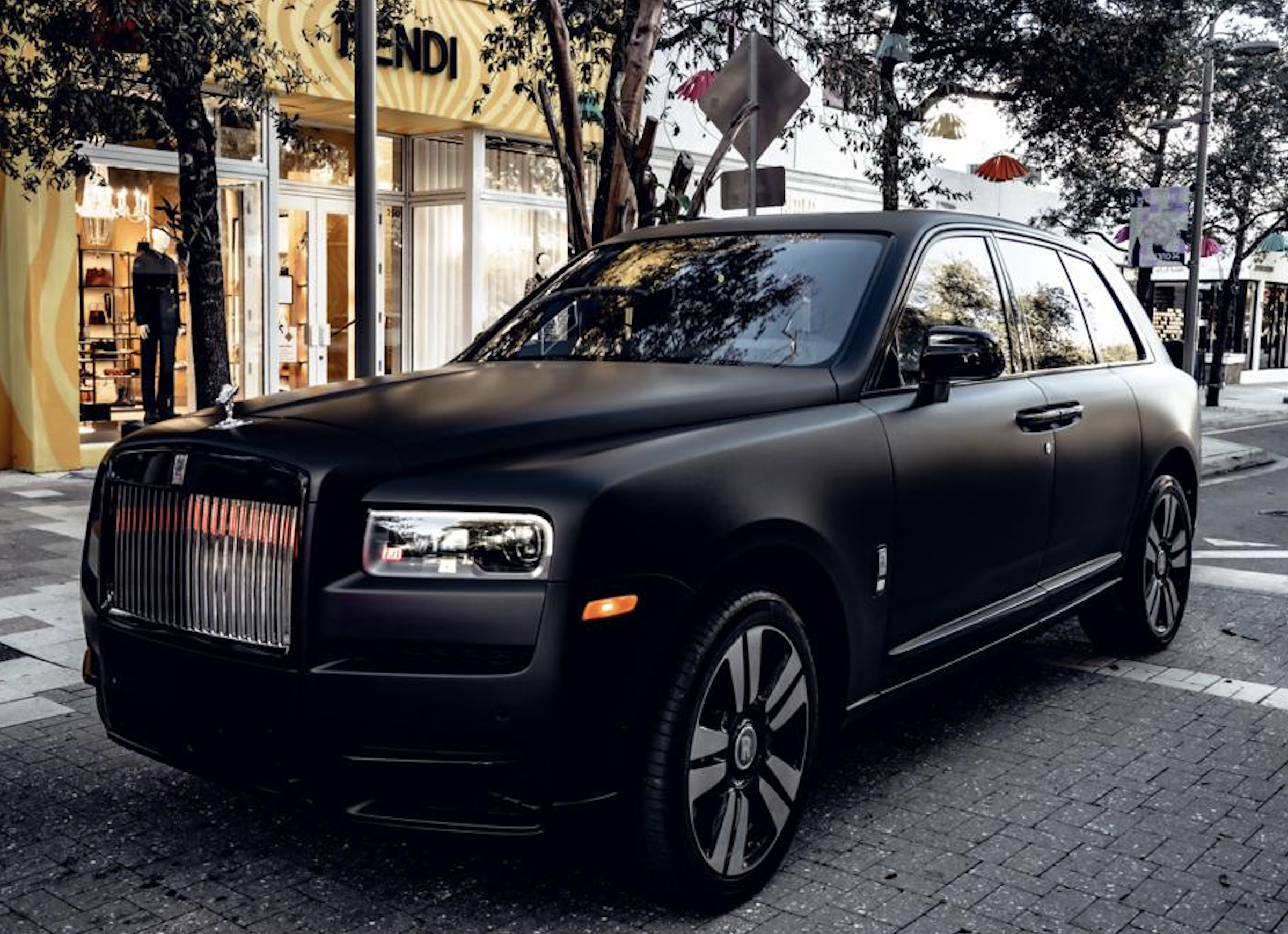 Image #8 of our  2021 ROLLS ROYCE CULLINAN - MATT BLACK    In Miami Fort Lauderdale Palm Beach South Florida