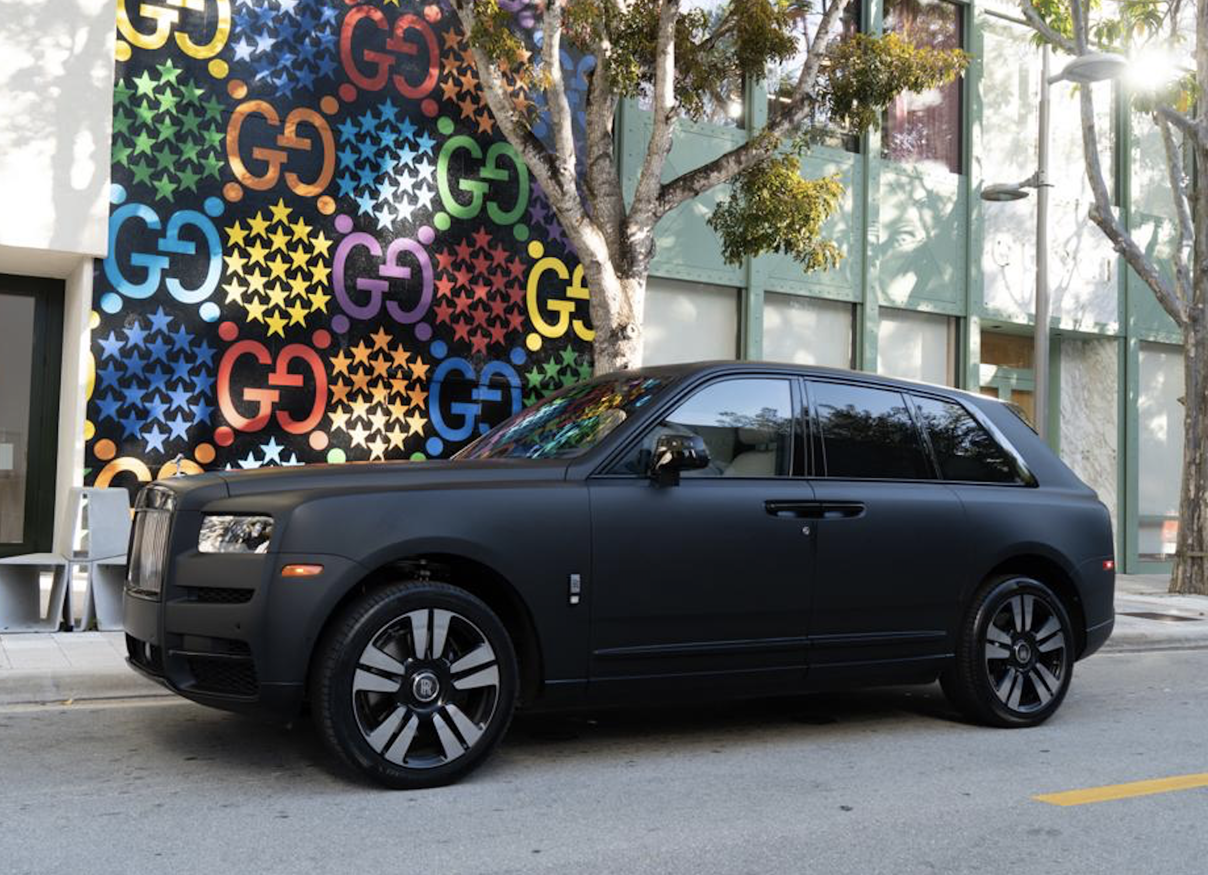 Image #9 of our  2021 ROLLS ROYCE CULLINAN - MATT BLACK    In Miami Fort Lauderdale Palm Beach South Florida