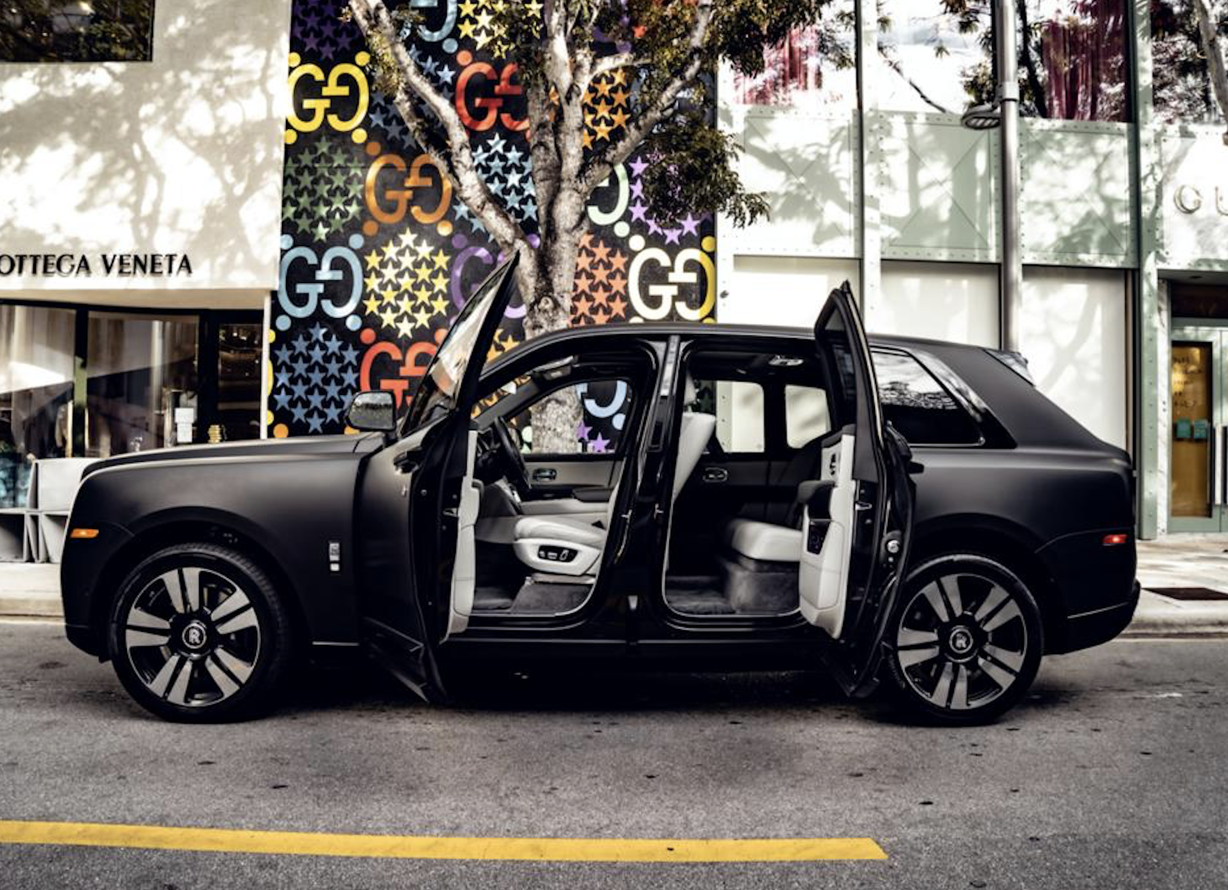 Image #11 of our  2021 ROLLS ROYCE CULLINAN - MATT BLACK    In Miami Fort Lauderdale Palm Beach South Florida