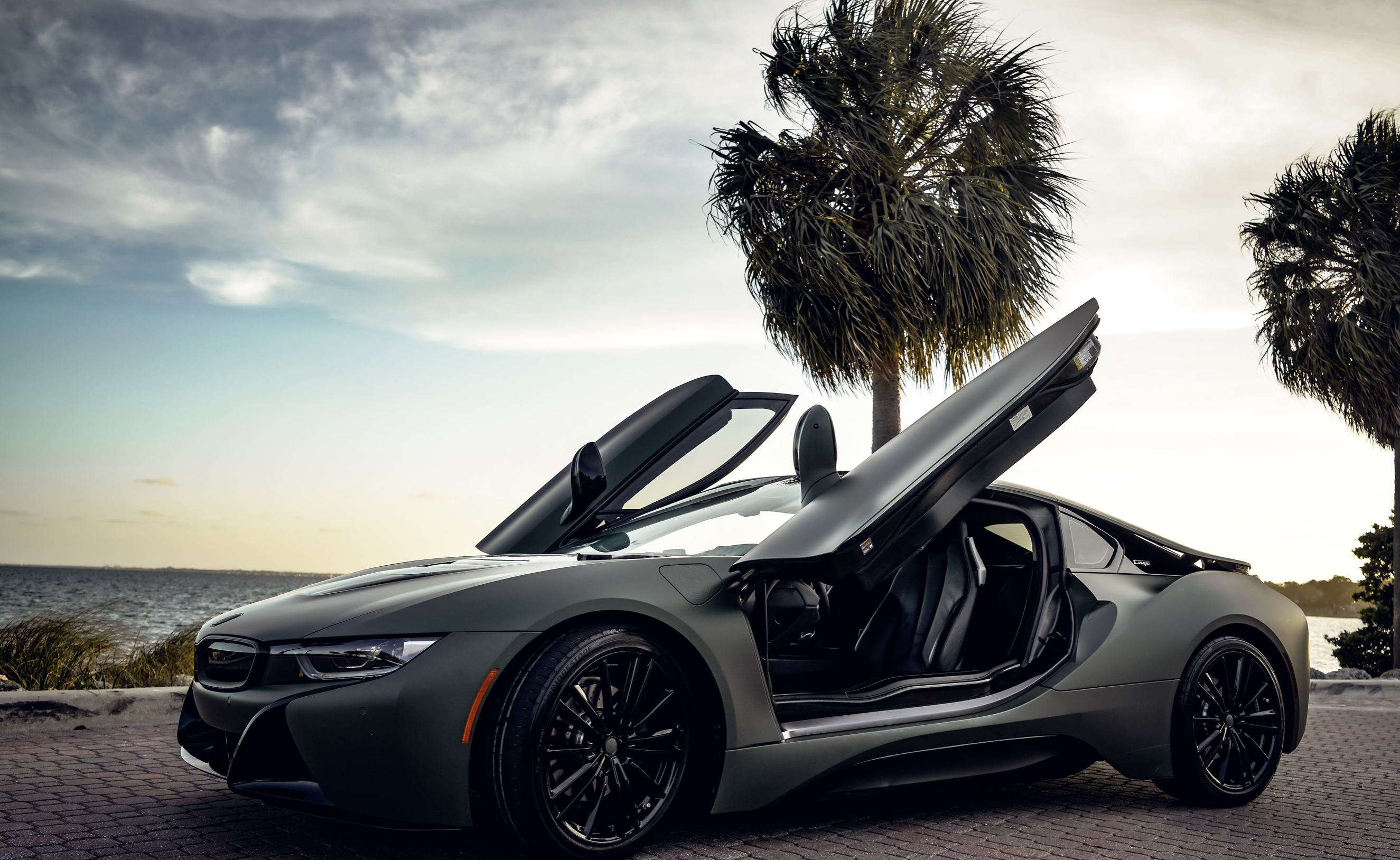 Image #2 of our  BMW I8 COUPE (DARK GREEN) 2019    In Miami Fort Lauderdale Palm Beach South Florida