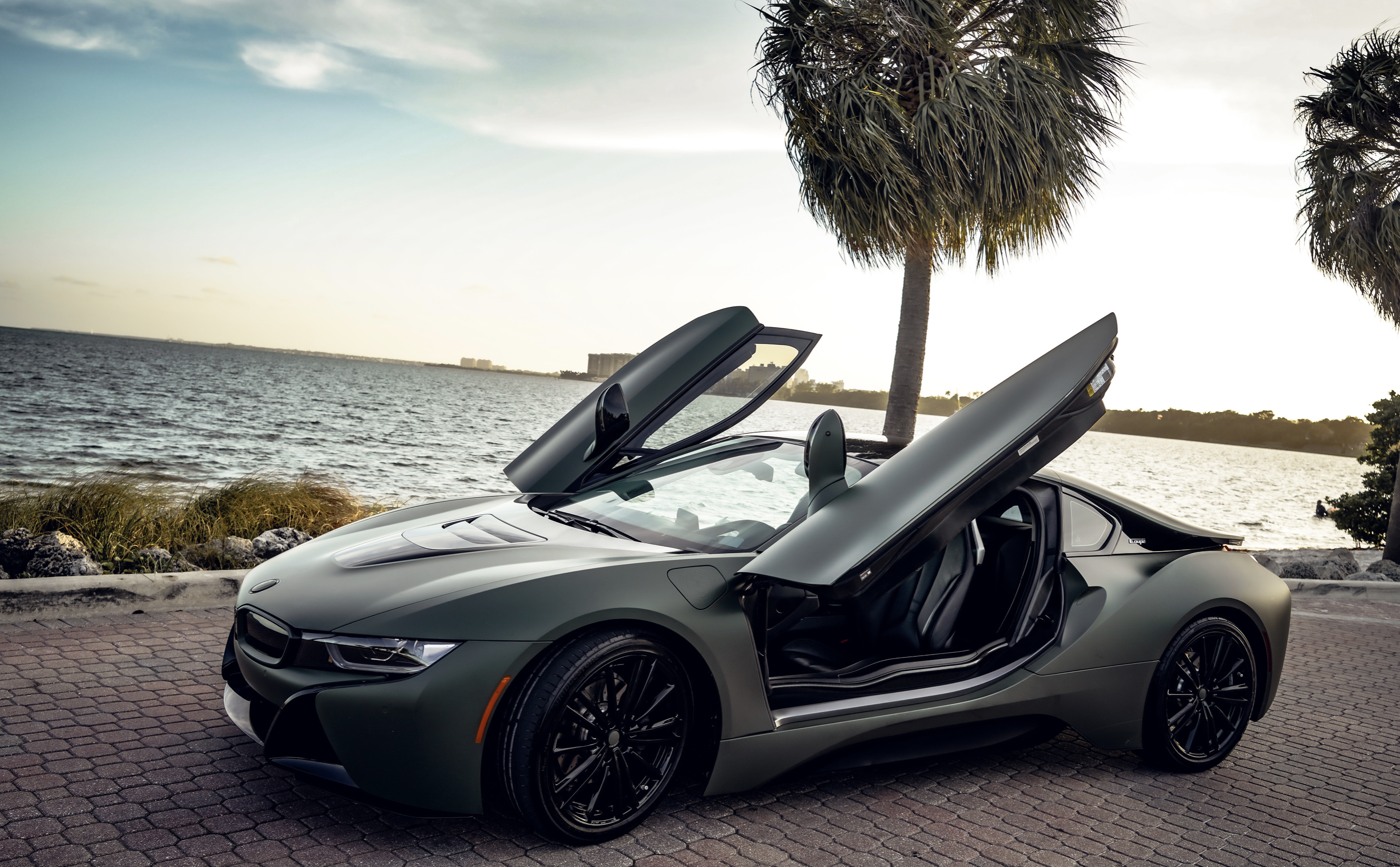 Image #6 of our  BMW I8 COUPE (DARK GREEN) 2019    In Miami Fort Lauderdale Palm Beach South Florida