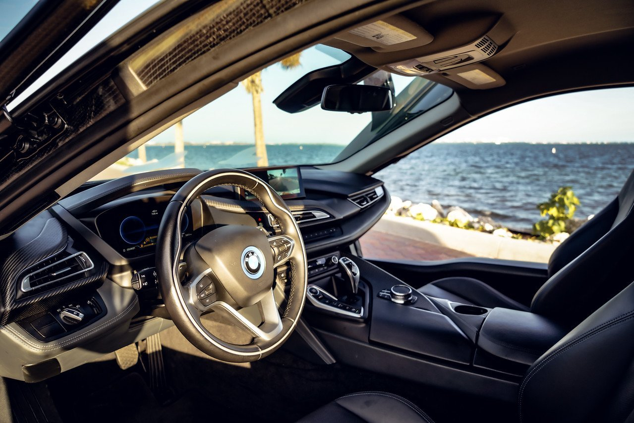 Image #10 of our  BMW I8 COUPE (DARK GREEN) 2019    In Miami Fort Lauderdale Palm Beach South Florida