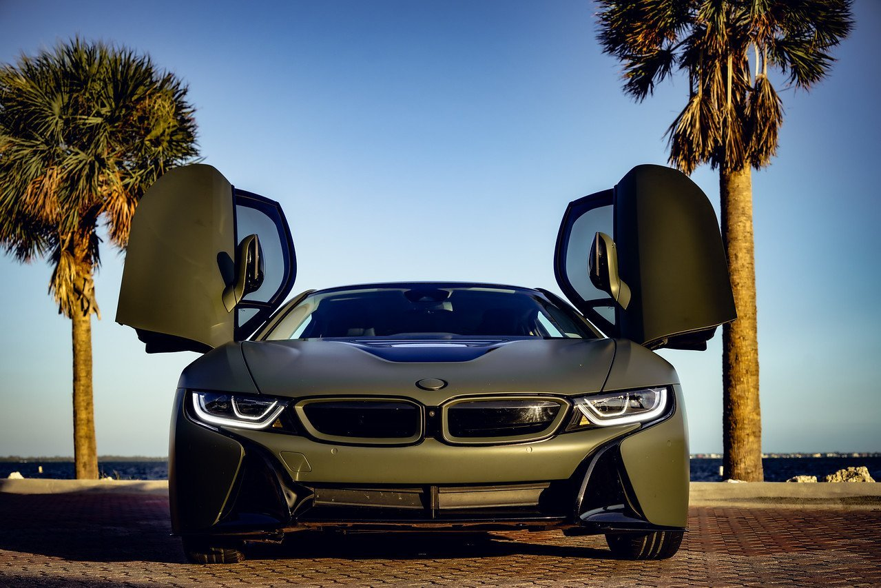 Image #11 of our  BMW I8 COUPE (DARK GREEN) 2019    In Miami Fort Lauderdale Palm Beach South Florida