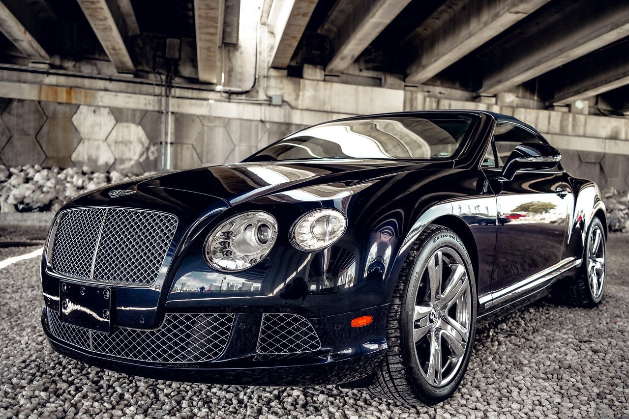 Image #0 of our  BENTLEY CONTINENTAL GTC BLACK - WHITE    In Miami Fort Lauderdale Palm Beach South Florida