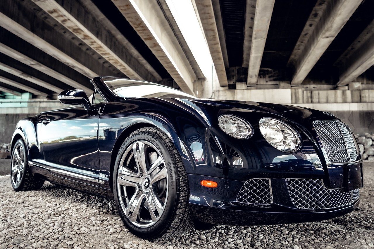 Image #1 of our  BENTLEY CONTINENTAL GTC BLACK - WHITE    In Miami Fort Lauderdale Palm Beach South Florida