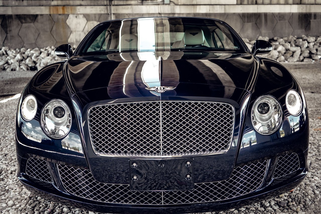 Image #2 of our  BENTLEY CONTINENTAL GTC BLACK - WHITE    In Miami Fort Lauderdale Palm Beach South Florida