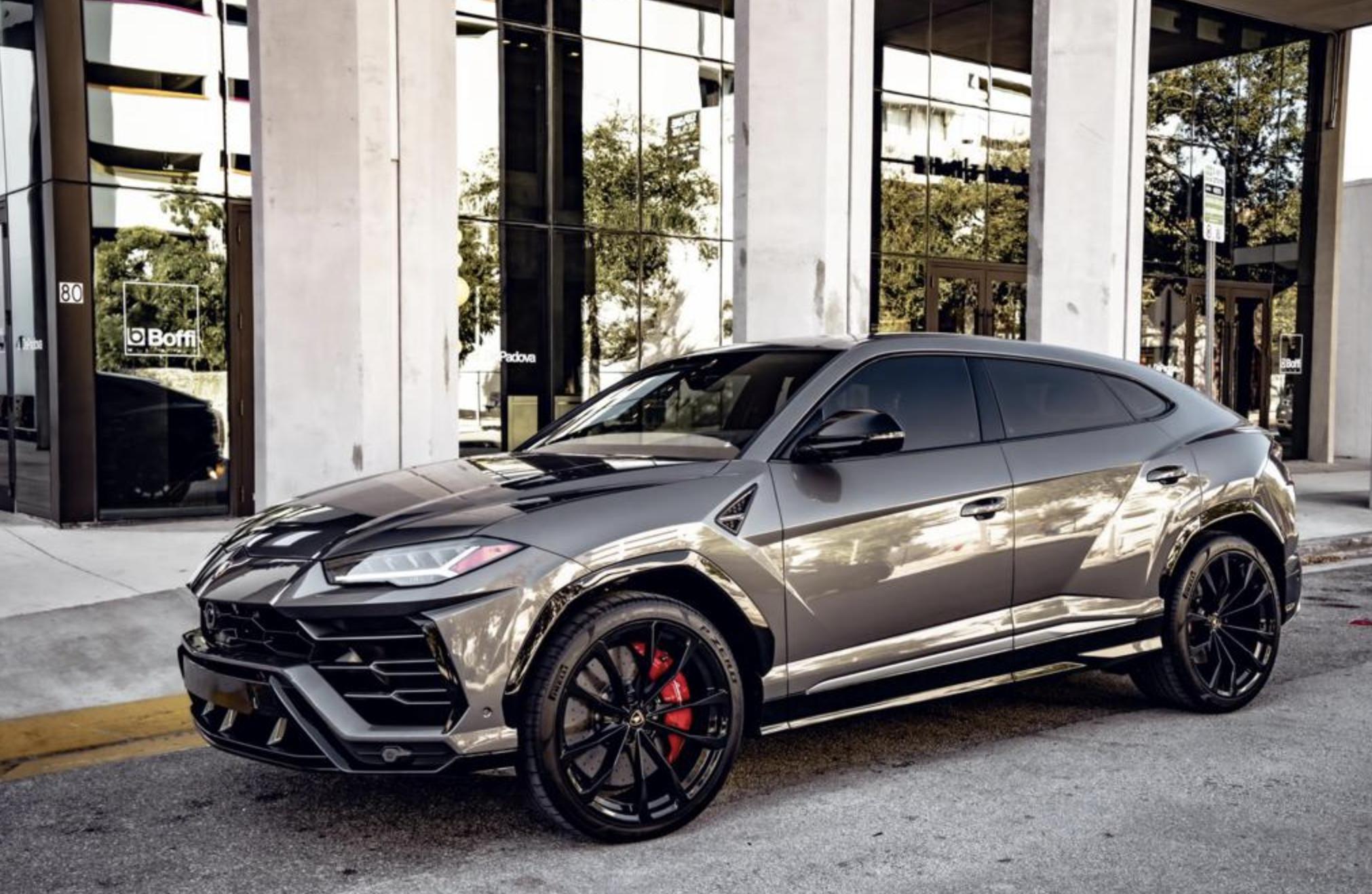 Image #2 of our  2021 Lamborghini Urus - Silver    In Miami Fort Lauderdale Palm Beach South Florida