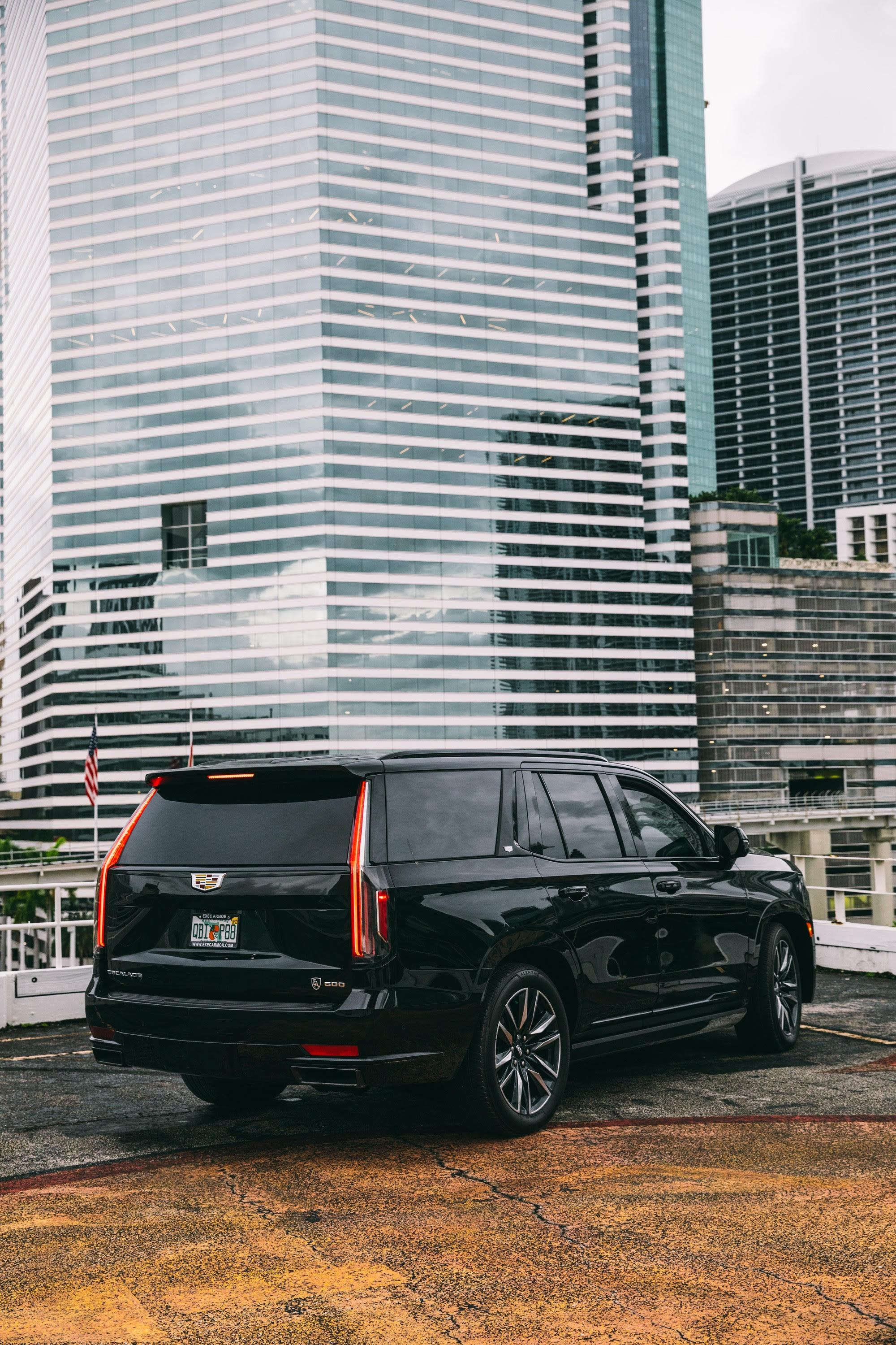 Image #4 of our  Armored Cadillac Escalade    In Miami Fort Lauderdale Palm Beach South Florida