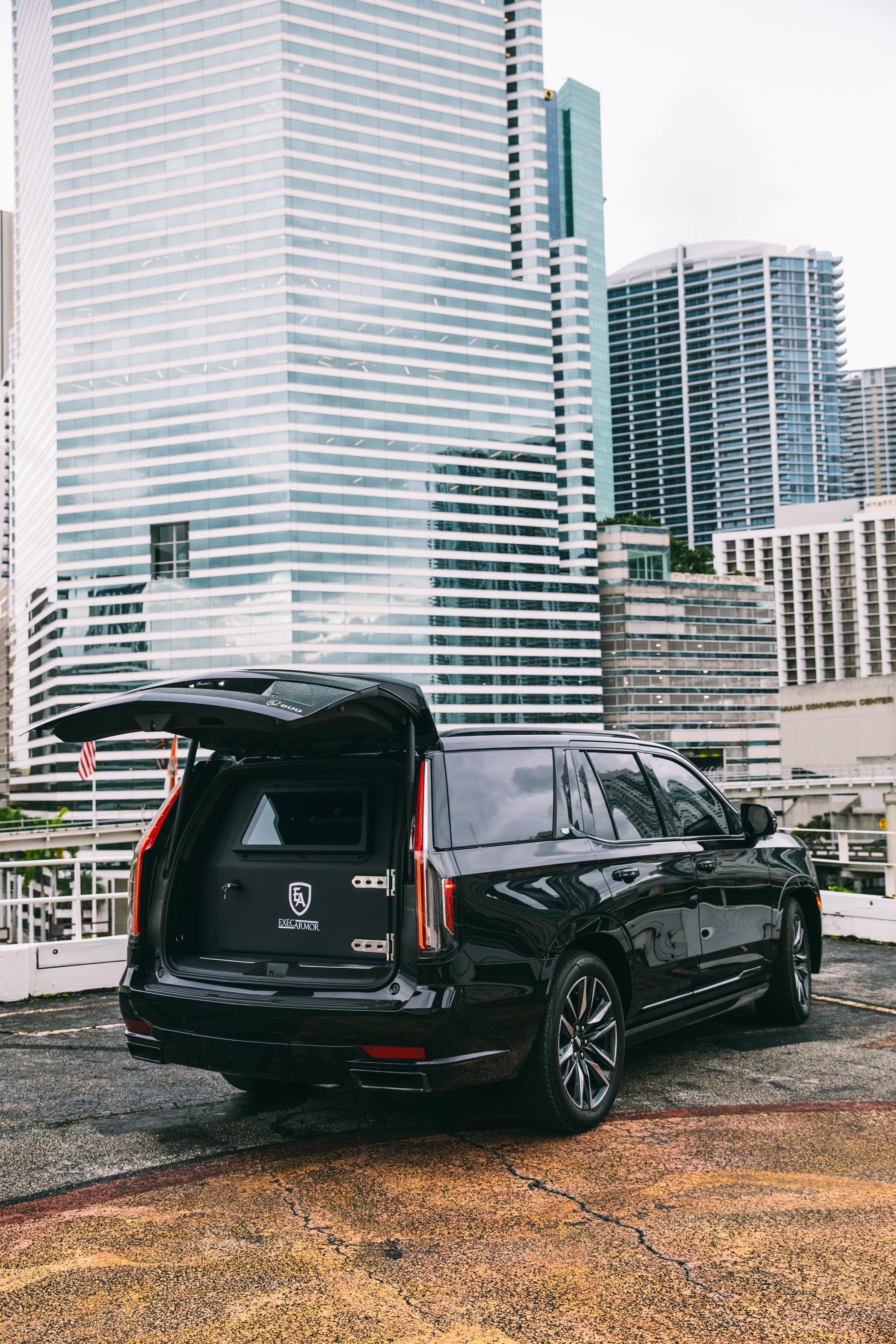Image #6 of our  Armored Cadillac Escalade    In Miami Fort Lauderdale Palm Beach South Florida