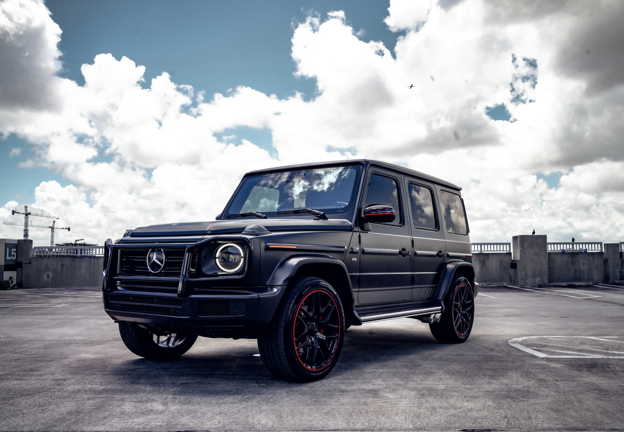Image #0 of our  Mercedes AMG G63 Matt Black    In Miami Fort Lauderdale Palm Beach South Florida