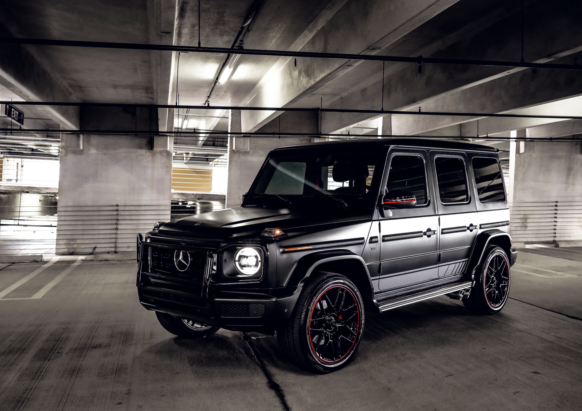 Image #2 of our  Mercedes AMG G63 Matt Black    In Miami Fort Lauderdale Palm Beach South Florida