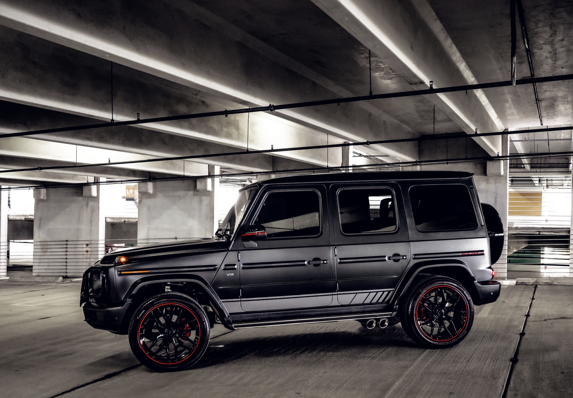 Image #3 of our  Mercedes AMG G63 Matt Black    In Miami Fort Lauderdale Palm Beach South Florida