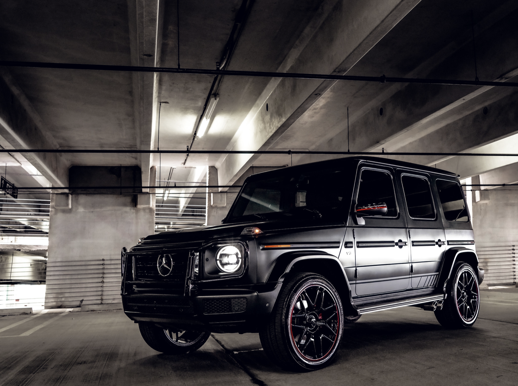 Image #4 of our  Mercedes AMG G63 Matt Black    In Miami Fort Lauderdale Palm Beach South Florida