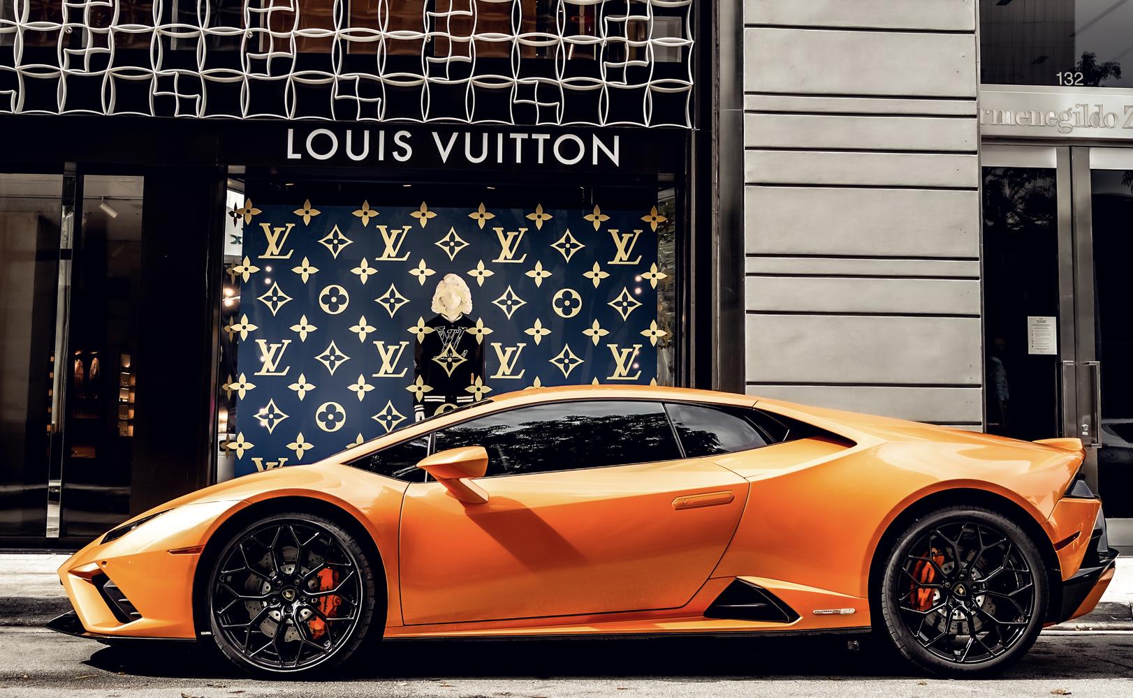 Image #2 of our  Lamborghini Huracan EVO Orange Coupe    In Miami Fort Lauderdale Palm Beach South Florida