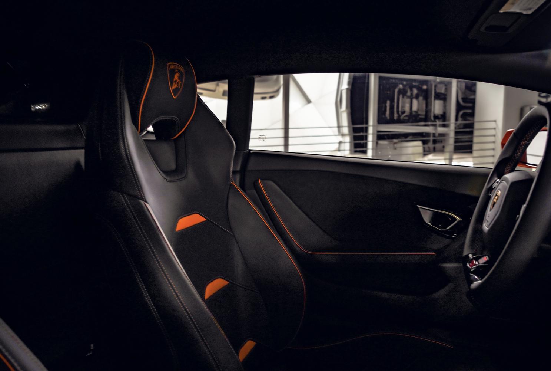 Image #6 of our  Lamborghini Huracan EVO Orange Coupe    In Miami Fort Lauderdale Palm Beach South Florida