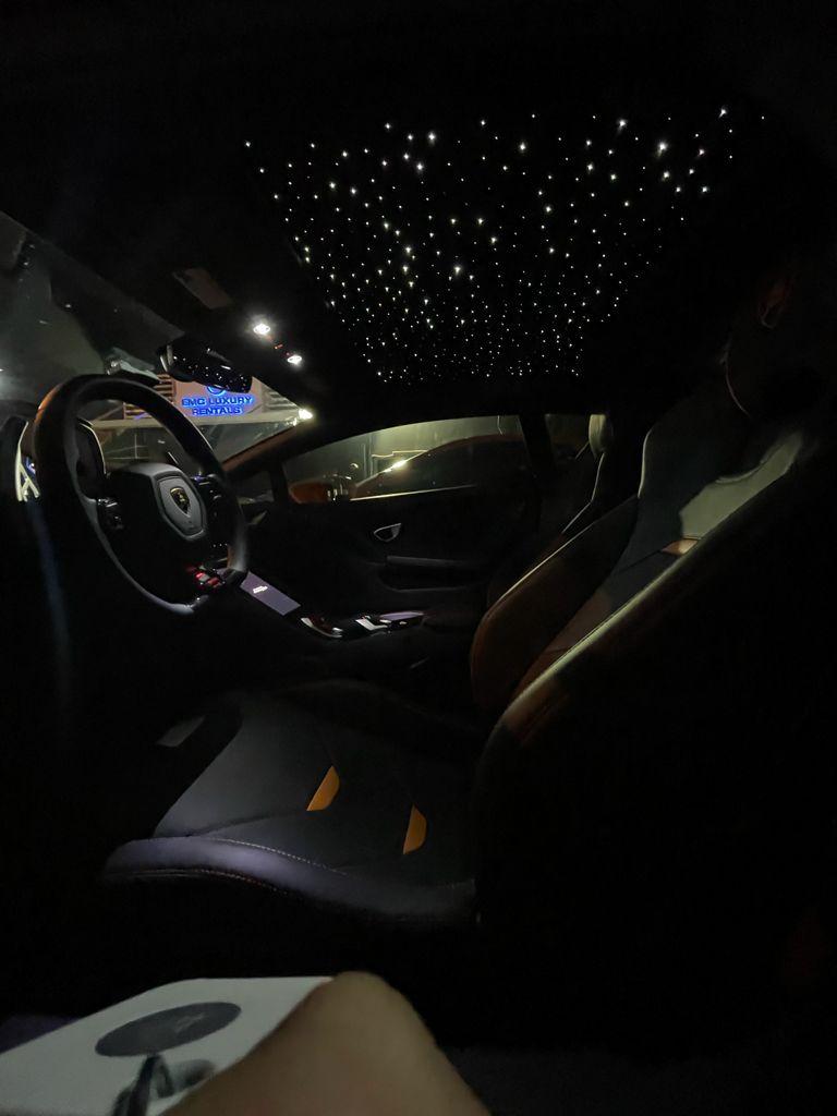 Image #9 of our  Lamborghini Huracan EVO Orange Coupe    In Miami Fort Lauderdale Palm Beach South Florida