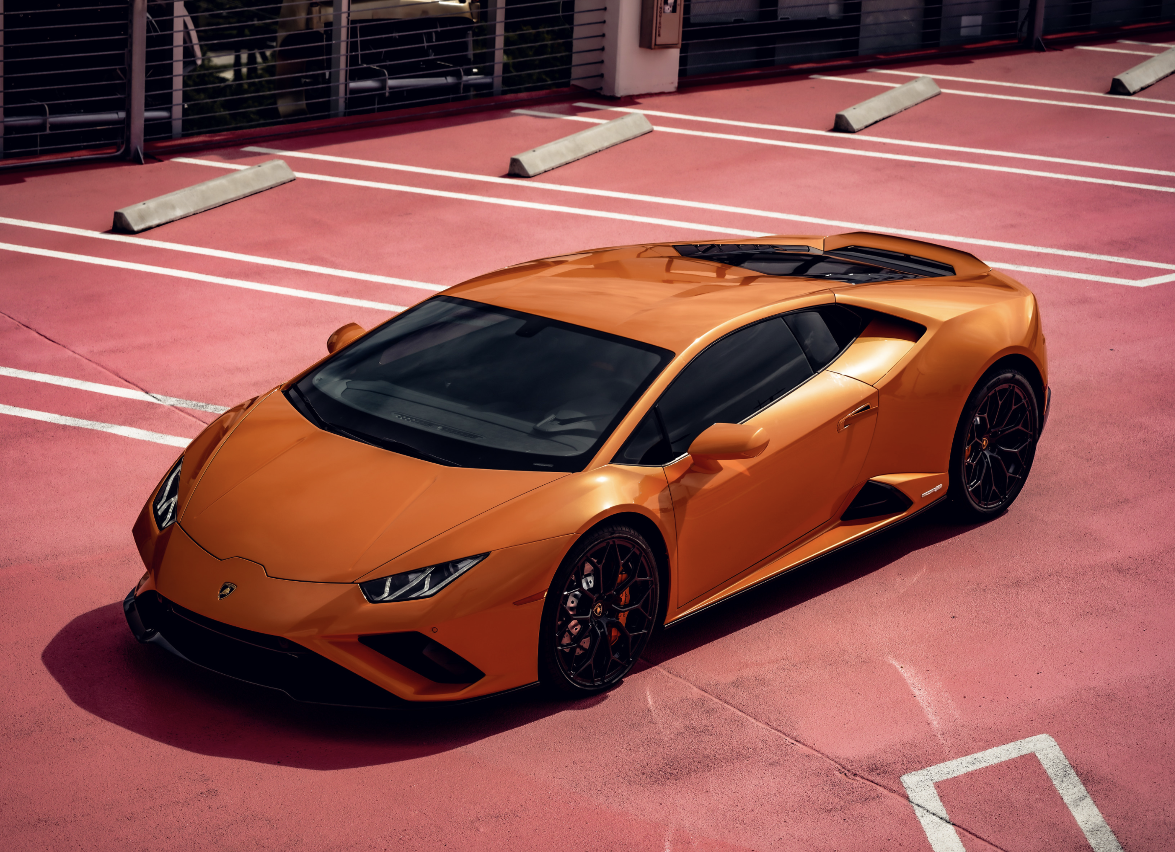 Image #11 of our  Lamborghini Huracan EVO Orange Coupe    In Miami Fort Lauderdale Palm Beach South Florida