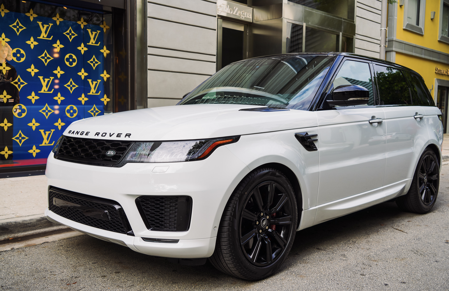 Image #0 of our  Range Rover Sport 22 White    In Miami Fort Lauderdale Palm Beach South Florida