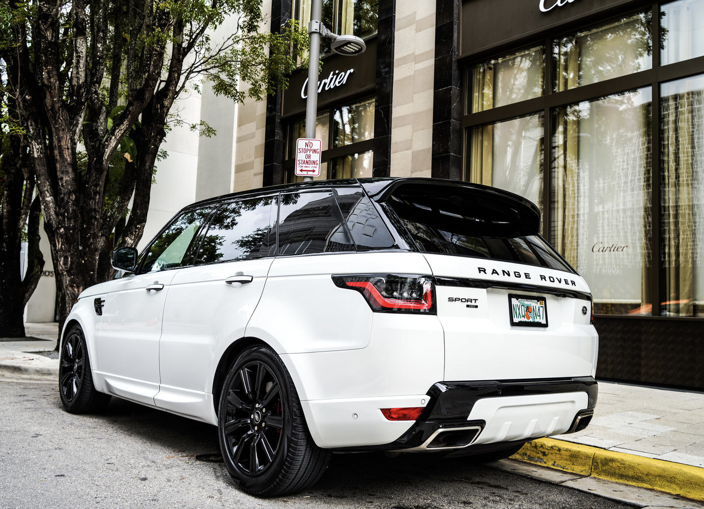 Image #2 of our  Range Rover Sport 22 White    In Miami Fort Lauderdale Palm Beach South Florida