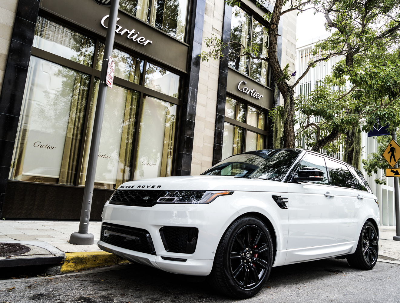 Image #3 of our  Range Rover Sport 22 White    In Miami Fort Lauderdale Palm Beach South Florida
